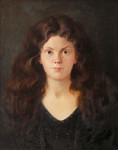 Dmitriew George  - 'Portrait of Daughter'