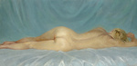 Dmitriew George - 'Sleeping Nude'