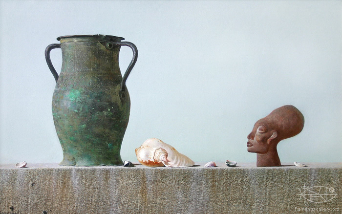 Dmitriew George - 'Still Life with Shell'