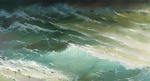 Dmitriew George - 'Wave Spotlit by the Sun'
