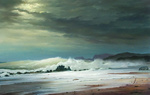 Dmitriew George - 'Windy Day on Sea'