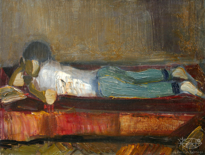 Dubov Andrew - 'Reading Boy'