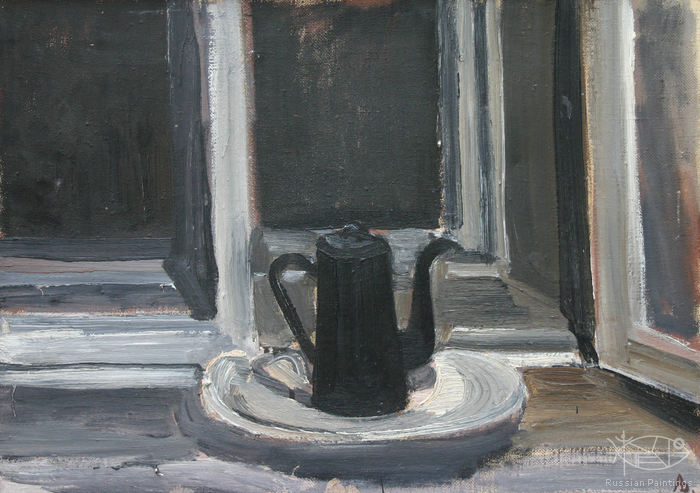 Dubov Andrew - 'Still Life with a Black Coffee-Pot'