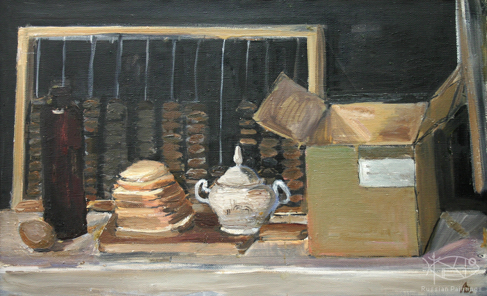 Dubov Andrew - 'Still Life with Box and Counting Frame'