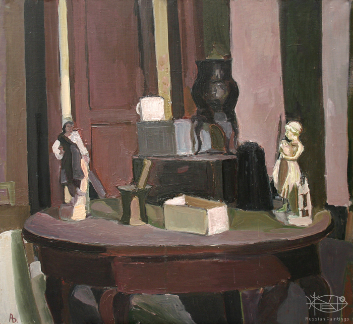 Dubov Andrew - 'Still Life with the Figurine'