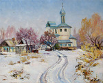 Ermolenko Alexander  - 'Church in the Panfilovskoe Village'