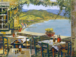 Evstigneev Alexis  - 'Greece Cafe'
