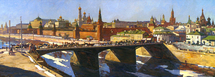 Evstigneev Alexis - 'Moscow at the Turn of the Century'