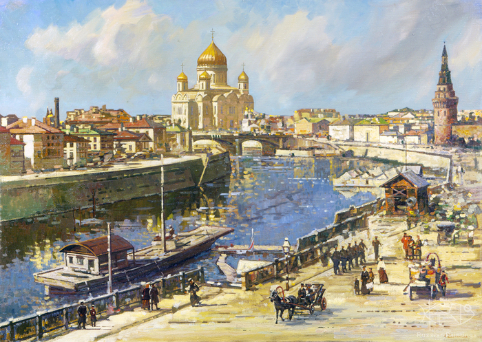 Evstigneev Alexis - 'Old Moscow'