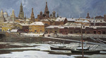 Evstigneev Alexis - 'View of the Kremlin'