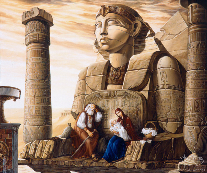 Fedorenko Mikhail - 'The Rest on a Way to Egypt'