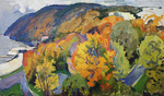 Filippov Yuriy - 'Autumn on the Volzhskiy Cliff'