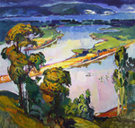 Filippov Yuriy - 'Beginning of September on the Volga River'