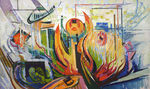 Filippov Yuriy - 'Composition #1. Flames'
