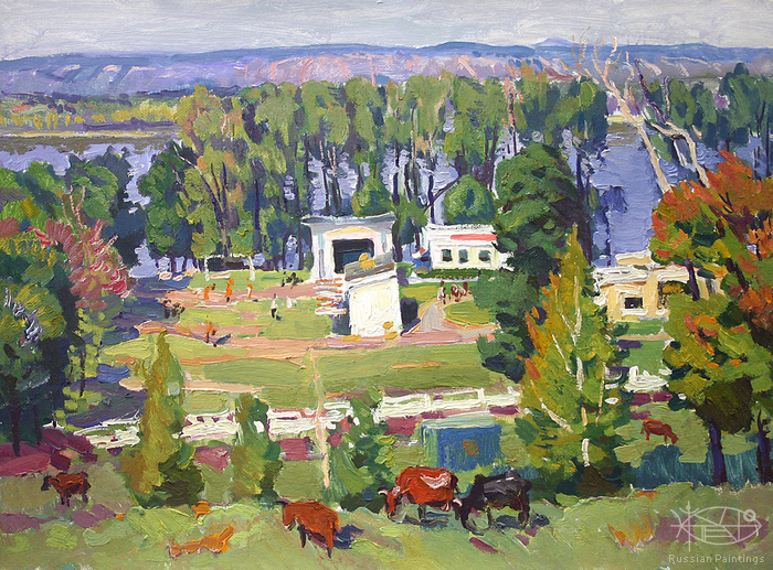 Filippov Yuriy - 'Country View'