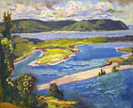Filippov Yuriy - 'Interesting Volga Landscape'