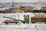 Filippov Yuriy - 'Railway Weekdays'