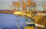 Filippov Yuriy - 'Small Bridge at the Lake'