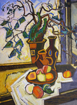 Filippov Yuriy - 'Still Life with a Branch'