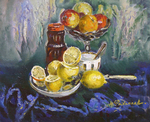 Filippov Yuriy - 'Still Life with Lemon'