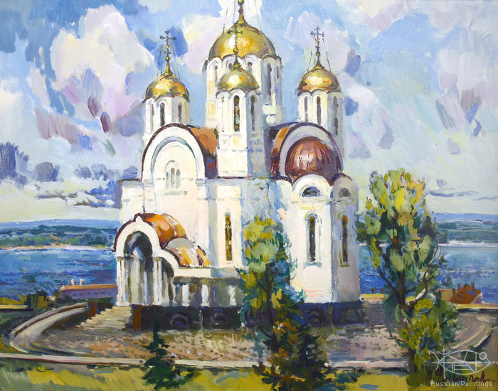 Filippov Yuriy - 'The Cathedral of the Saint George'