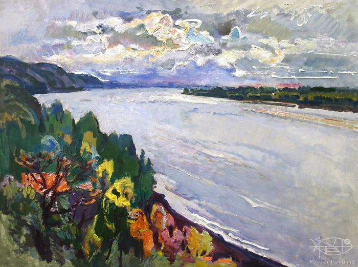 Filippov Yuriy - 'The Great Volga River'