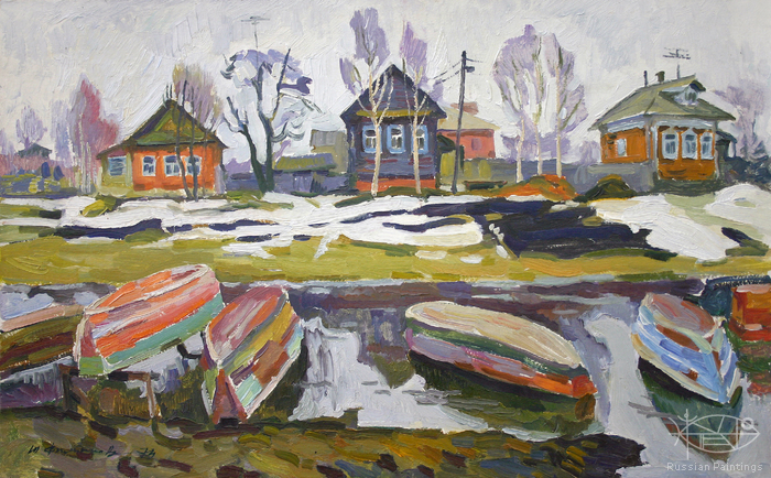 Filippov Yuriy - 'The Last Snow'