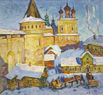 Filippov Yuriy  - 'The Monastery of Boris and Gleb'