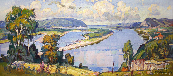 Filippov Yuriy - 'The Volga River Expances'