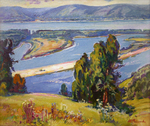 Filippov Yuriy  - 'View of Volga from the Helipad'