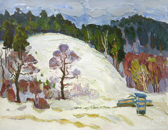 Filippov Yuriy - 'Winter in Zhiguli'