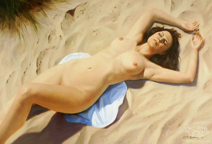 Gavrilenok Yuriy - 'On the Sand'