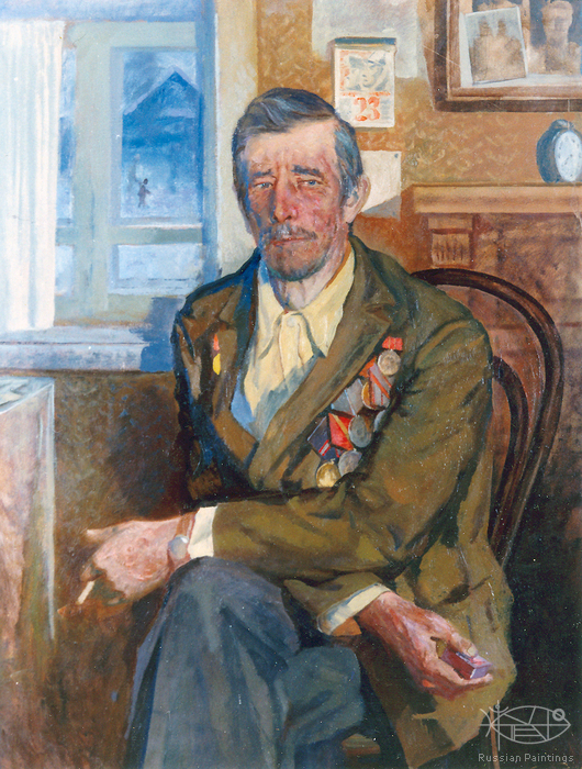 Gorinov Spartak - 'Portrait Of The Veteran'