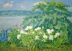 Ievlev Boris Alexandrovich - 'At the Volga River'