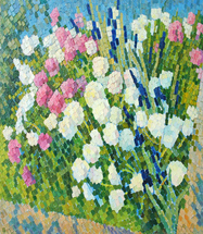 Ievlev Boris Alexandrovich - 'Flower Bed'