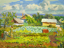 Ievlev Boris Alexandrovich - 'Rural Weekdays'