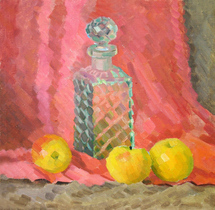 Ievlev Boris Alexandrovich - 'Still Life with Decanter'