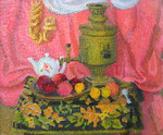 Ievlev Boris - 'Still Life with Samovar'