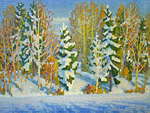 Boris Ievlev - 'Winter Forest'