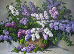 Khananin Sergey - 'Bouquet of Lilac'