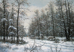 Khananin Sergey - 'In Winter Forest'