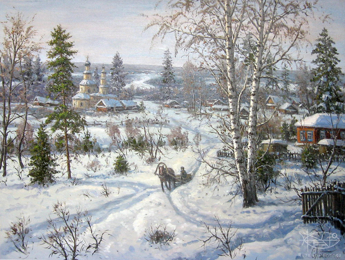 Khananin Sergey - 'Once in Winter'
