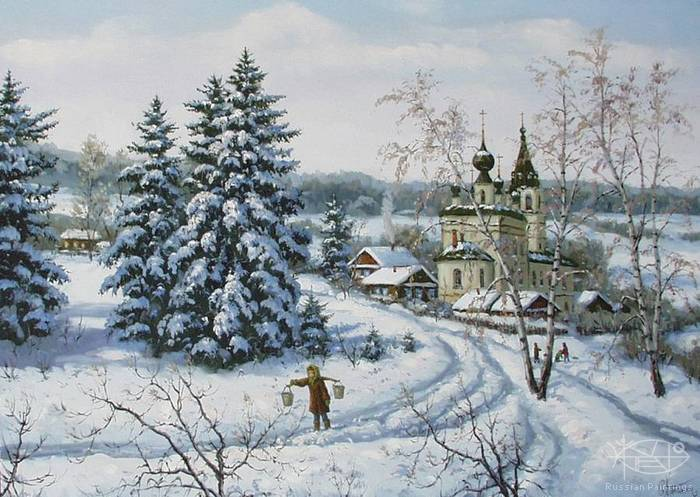 Khananin Sergey - 'Russian Winter'