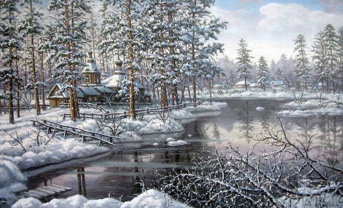 Khananin Sergey - 'Winter Day'
