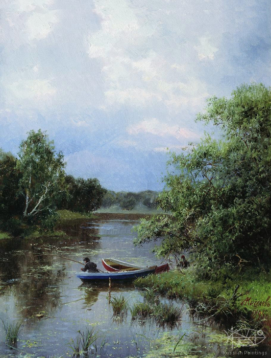 Kiselev Alexander - 'On the Pond'