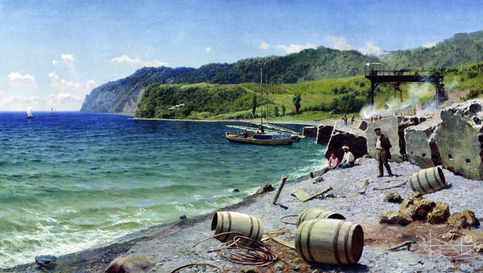 Kiselev Alexander - 'Quarry on the Black Sea'