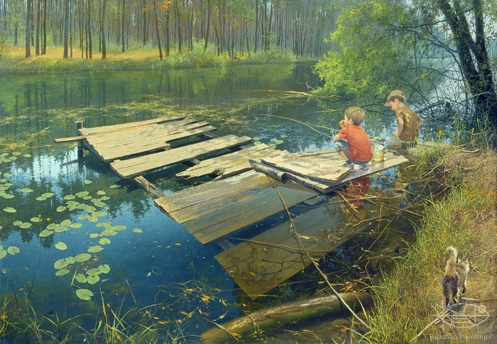 Klapoukh Yuri - 'Fishing Place'