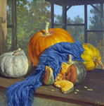 Klapoukh Yuri - 'Pumpkins with Blue'
