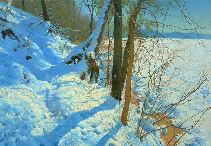 Klapoukh Yuri - 'Winter Shore'