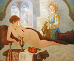 Krylov Vladimir - 'North Odalisque'